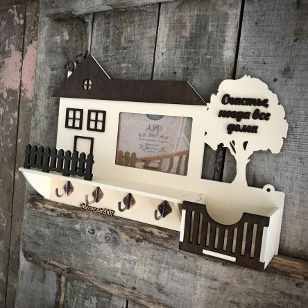 Ключница домик «Классик»