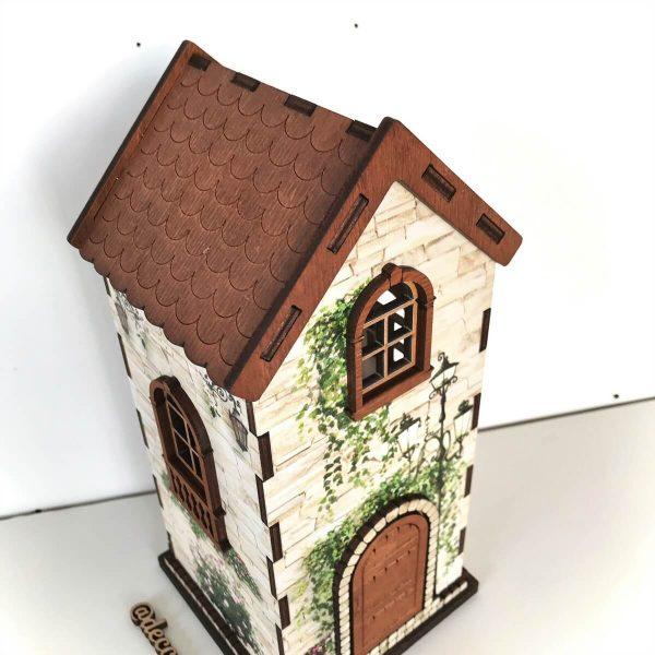чайный домик для пакетиков в стиле прованс купить с доставкой