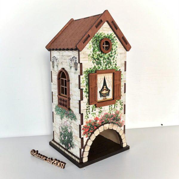 домик для чайных пакетиков в стиле прованс