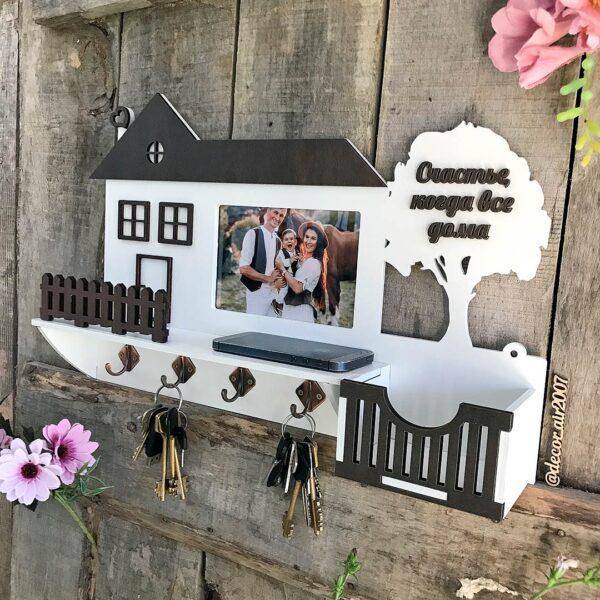 Ключница на стену с фото и фамилией купить в городах Минск, Могилев, Брест, Пинск, Борисов с доставкой недорого