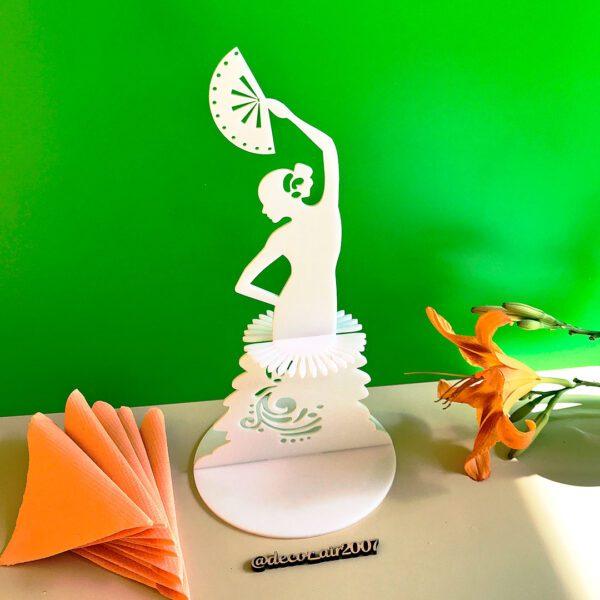 подставка для салфеток в виде девушки с веером белая с платьем купить недорого с доставкой в Гомеле, Минске, Чаусах, Могилеве, Бресте